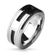 Ocelový prsten pro muže 4597