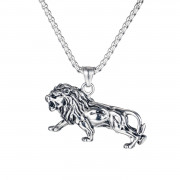 Ocelový náhrdelník lev 1700ST