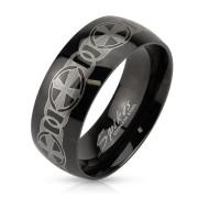 Černý prsten 3898