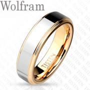 Snubní prstýnky z wolframu 007