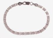 Dámský náramek stříbro 301035