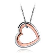 Dámský náhrdelník srdce Sagapo Memories SMS02