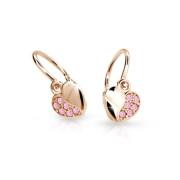 Náušnice pro miminka Cutie Jewellery C2160R-Pink