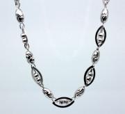 Dámský náhrdelník stříbrný 306463