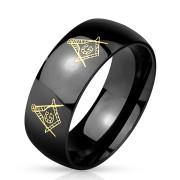 Ocelový prsten 4896
