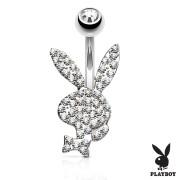 Piercing do pupiku Playboy SEPBNC025ST-CZ