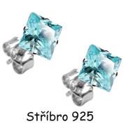 Náušnice SEESSQ7Q-Stříbro 925/000