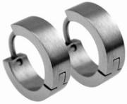 Náušnice kroužky chirurgická ocel SESSE066-MS