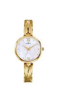 Zlaté dámské hodinky Dugena Elin 4460669
