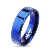 Ocelový prsten 084