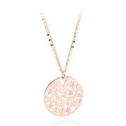 Elegantní náhrdelník Sagapo Flower SFL03