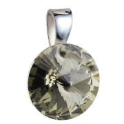 Přívěsek Swarovski 34112.1 Bl. diamond
