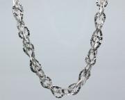 Dámský náhrdelník stříbrný 301757