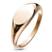 Dámský pečetní prstýnek zlatý SERM7688RD
