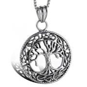 Náhrdelník chirurgická ocel strom života WJHC143