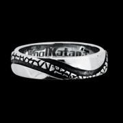 Ocelový prsten 055