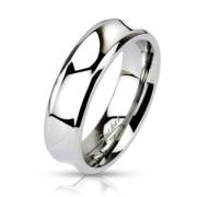 Ocelový prsten 0020