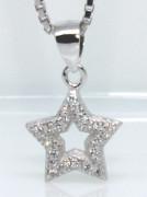 Stříbrný přívěsek hvězdička 306296