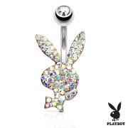 Piercing do břicha Playboy SEPBNC025ST-AB