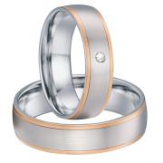 Snubní prsteny chirurgická ocel SPPL025