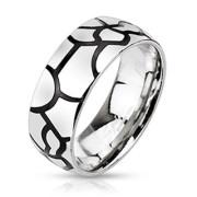 Ocelový prsten 2183