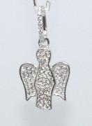 Stříbrný přívěšek anděl 303773