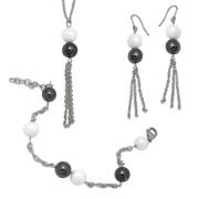 Luxusní souprava ocelových šperků Tribal SET011