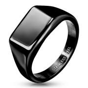Pánský ocelový pečetní prsten 7685K