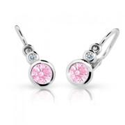 Náušnice pro miminka Cutie C1984B-Pink