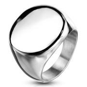 Pánský ocelový pečetní prsten 6575S