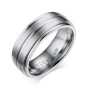 Klasický titanový prsten pro muže JCFTR012S