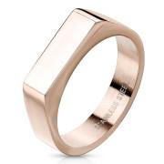 Dámský pečetní prstýnek zlatý SERM7686RD