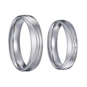 Svatební prstýnky z chirurgické oceli SPPL035