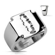 Pánský prsten z chirurgické oceli 0026