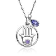 Elegantní dámský stříbrný náhrdelník Brosway New Age G9NA05