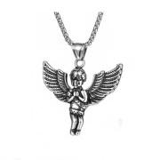 Ocelový náhrdelník anděl WJHC513