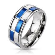 Ocelový prsten 2184