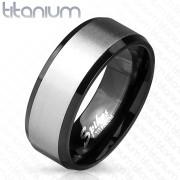 Pánský titanový prsten 3906