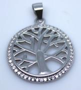 Přívěsek stříbrný strom života 304722