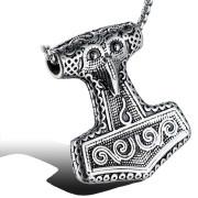 Ocelový náhrdelník Thórovo kladivo WJHC22