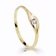 Zlatý prstýnek s kamínkem Z6108Y