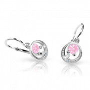 Náušnice pro miminko Cutie C1997B-Pink