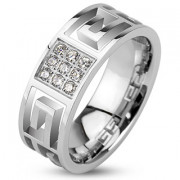Prsten z chirurgické oceli 2146