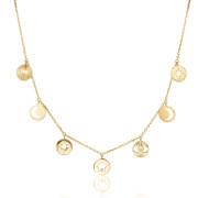Elegantní pozlacený náhrdelník Brosway Chant BAH02