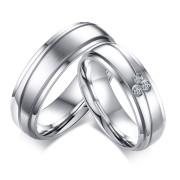 Svatební prstýnky chirurgická ocel SECR055