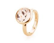 Ocelový dámský prstýnek s krystalem Swarovski Brosway Charm BTGC132