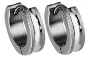 Ocelové náušnice kroužky SEE189MS
