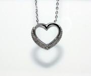 Dámský náhrdelník srdce 306985