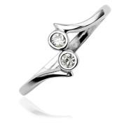 stříbrný prsten na nohu 017
