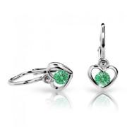 Náušnice pro miminka Cutie C1943B-Emerald Green